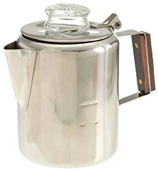 Rapid Brew Stainless Steel Stovetop Coffee Percolator, 2-3 cup made by Tops MFG. CO., Inc.