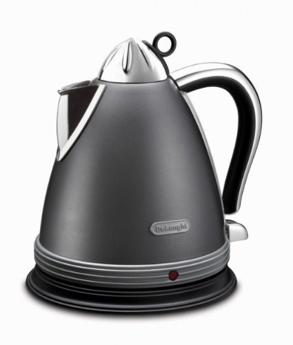 Delonghi KBM2011 Delonghi KBM2011 1.7 Liter 2000-Watt Tea Kettle, 220V (Non-USA Compliant), Silver (Electric Kettle 2000w compare prices)