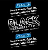 Pasante Black Velvet Condoms 144
