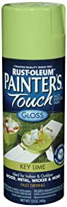 Rust-Oleum 224359 Painter's Touch Spray, Gloss Key Lime, 12-Ounce