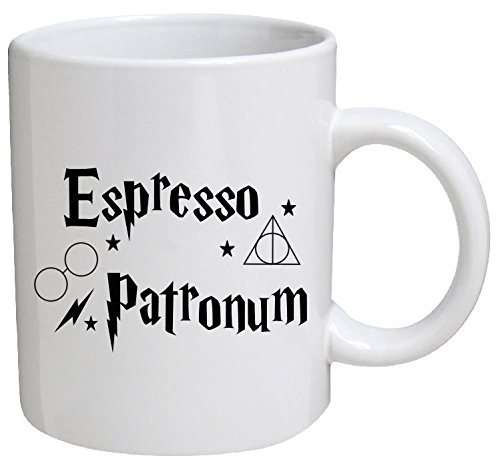 Funny Mug - Espresso patronum - 11 OZ Coffee Mugs - Funny Inspirational and sarcasm - By A Mug To Keep TM