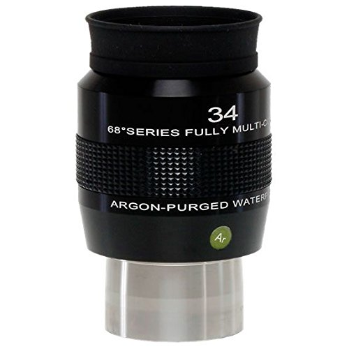 Explore Scientific 34Mm 68 Degree Series Argon-Purged Waterproof Eyepiece Epwp6834-01