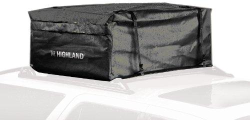 Highland 1038900 Black 15 cu.ft. Rainproof Car Top Bag with Storage Sack