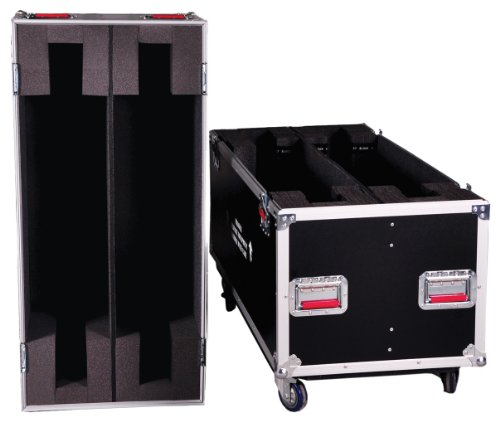 Gator Flight Case Fits Two 37-43 Inches Lcd/Plasma Screens (G-Tourlcd3743X2)
