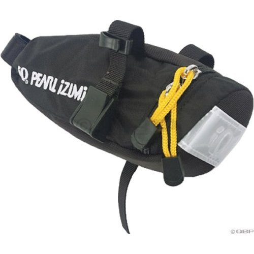 Pearl Izumi Tailgate Saddle Bag(Black/Yellow, One)