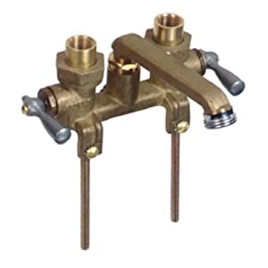 Gerber Faucets 0049540 Gerber Two Handle Laundry Faucet Rough Brass Plumbin