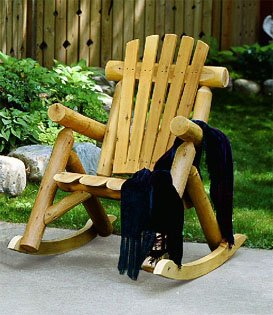 Rocking Chair Wooden front-664757