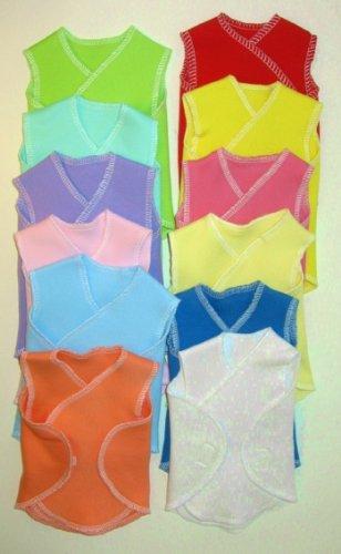 NICU Hospital Preemie Newborn Wraps (Four Sizes! 0-12 Pounds), Small Preemie 3-6 Pounds, Dark Pink