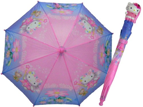 Cute Hello Kitty Magic Wand Girls Umbrella