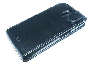Case Busta Custodia pelle PU per Samsung Galaxy Nexus S i9250 nero elegante di RBrothersTechnologie