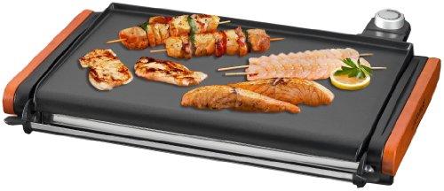 Efbe schott plancha grill de luxe holz guss mayb gr 7 for Tischgrill design