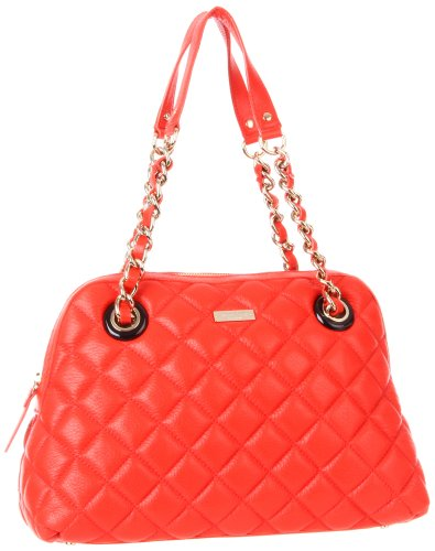 Kate Spade New York Gold Coast-Georgina  Shoulder Bag,Maraschino,One Size