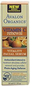 (有机)阿瓦隆Avalon Organics Vitamin 有机维c活力乳液2瓶装$26.62