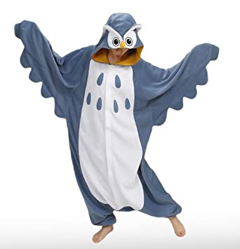 Owl Kigurumi - Adult Halloween Costumes Pajama (One Size Fits All)