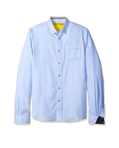 Descendant of Thieves Men's Textured Micro Stripe Shirt