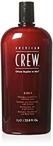 American Crew Classic 3-in-1 Shampoo Plus Conditioner, 33.8 Ounce