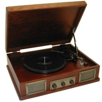 Steepletone Norwich 2/Norwich 2D Retro Style Wooden Stereo Record Player/ Radio (Nostalgic Turntable) Black Friday & Cyber Monday 2014
