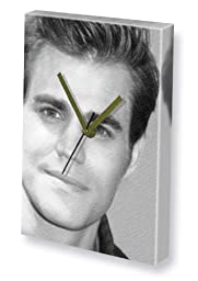 PAUL WESLEY - Canvas Clock (LARGE A3 - Signed by the Artist) #js001