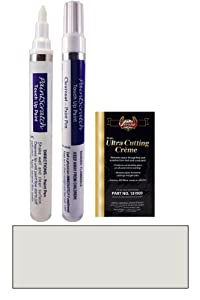 2003 Plymouth Voyager Sparkle Silver Metallic (Wheel Color) PAK-W Touch Up Paint Pen Kit - Original Factory OEM Automotive Paint - Color Match Guaranteed