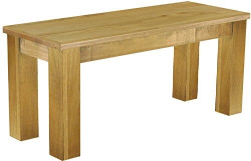 Brasilmbel-Sitzbank-Rio-Classico-100-x-38-x-44-cm-Pinie-Massivholz-Farbton-Brasil