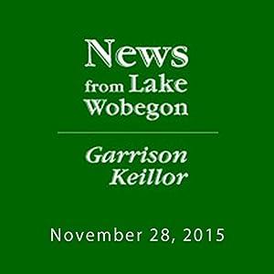 November 28, 2015: The News from Lake Wobegon Radio/TV Program