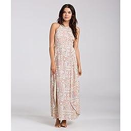 Billabong Junior\'s Love Trippin Maxi Dress, Multi, Small