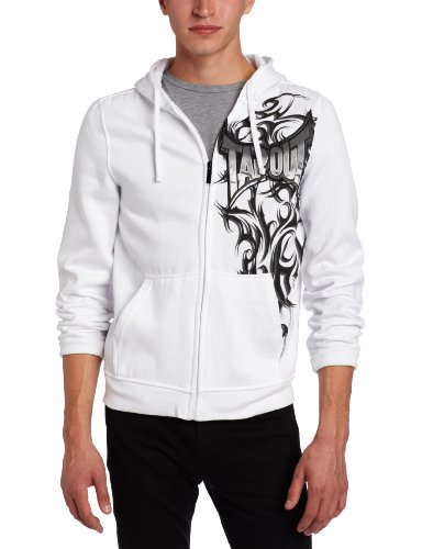 TapouT Men's Spiked Dreamer Hoodie , White, XX-Large