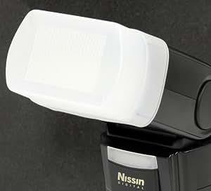 Impulsfoto Diffusor, Weichmacher, Bouncer, Softbox für Nissin Speedlite Di866, Di 866 , Canon und Nikon