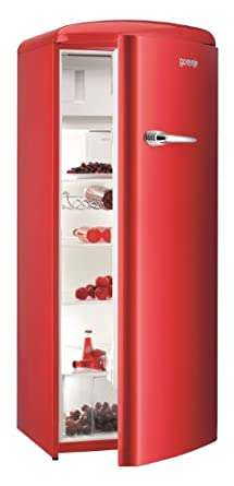 gorenje rb60299ord uk red retro fridge 5 year parts and. Black Bedroom Furniture Sets. Home Design Ideas