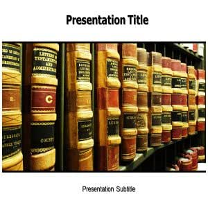 Law Powerpoint Template - Law Powerpoint Slides for Presentation