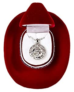 Amazon.com: Horse Head Necklace Cowgirl Glam Western Pendant in Red