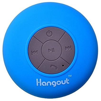 Hangout-Latest-HBT-201-Waterproof-Bluetooth-Speaker-(Blue)