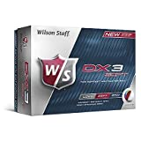 ONE DOZEN WILSON DX3 SOFT GOLF BALLS.