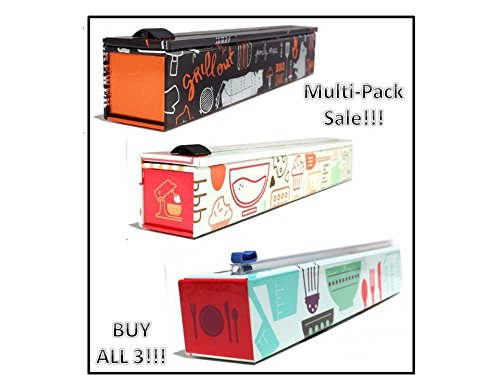 ChicWrap Multi-Pack - Cooks Tools - BBQ Aluminum Foil - Parchment Paper