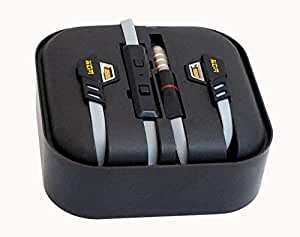 Original EarBud Hands Free Headset hands-free operation of your phone. hands-free High quality and super clear sound. Built-in microphone on cord. On Off Button for easy call answering. FITS ANY PHONE WITH 2.5mm JACK