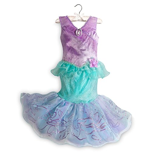 Disney Store Princess The Little Mermaid Ariel Halloween Costume Dress Girl 5/6