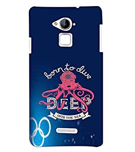 PRINTVISA Quotes Diver Case Cover for Coolpad Note 3