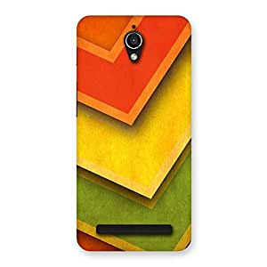 Impressive Multicolor Merge Back Case Cover for Zenfone Go