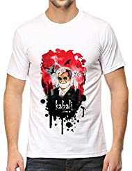IndieMonk Men's Graphic Printed T-Shirt - Kabali Splatter