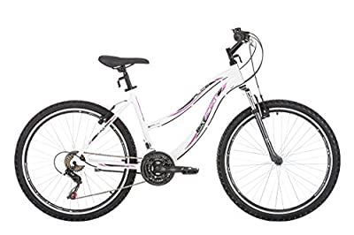 Bikesport Women's ALICE Hardtail Mountain Bike 26 inch wheels lady, Alloy Frame / 19 inches / Shimano 21 sp. from Sprint