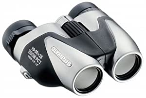 Olympus 10-30x25 PC-I Jumelles Prismes de Porro Compact Légères Lentilles asphériques Protection anti-UV