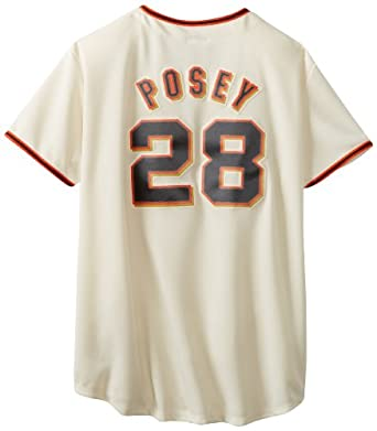 MLB San Francisco Giants Buster Posey Ivory Home Replica Baseball Ladies Jersey,... by Majestic