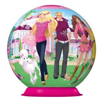 Ravensburger 12223 - Barbie: Barbies Welt - 108 Teile puzzleball® by Ravensburger