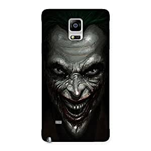 Special Mad face Multicolor Back Case Cover for Galaxy Note 4