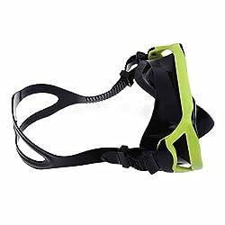 UN3F Scuba Diving Swimming Goggle Protective Snorkeling Mask Handy(Random Color)