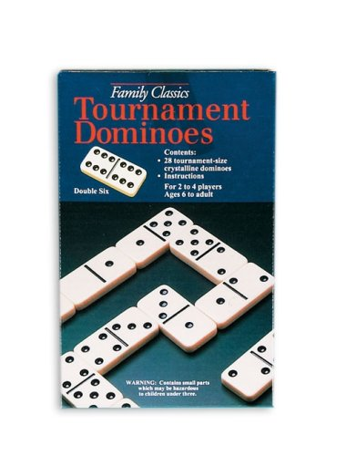 Pressman Double 6 Dominoes - 1