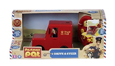 Postman Pat Drive and Steer Pats Van