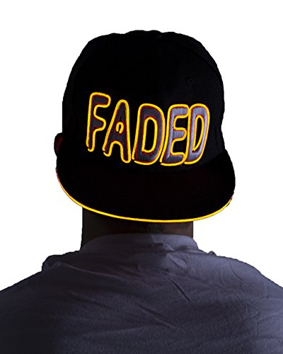 Light Up Hat – FADED (Yellow)