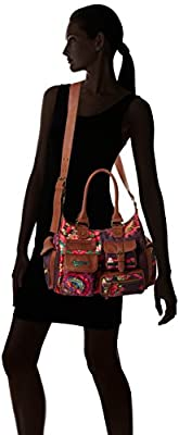 Desigual LONDON MEDIUM ALIKA, Sacs bandoulière Femme