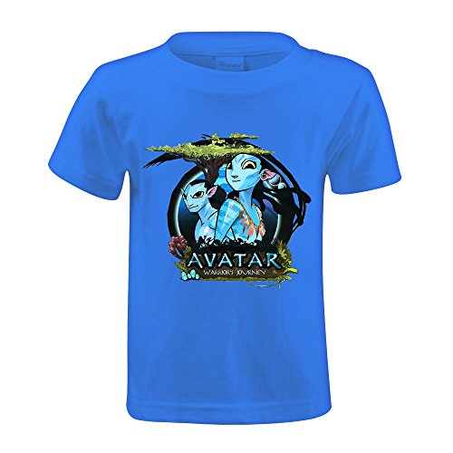 Timico Custom Avatar Game Kids Tshirts Blue (Avatar Robot compare prices)